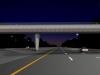 night-eastbound